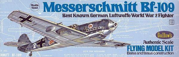 Messerschmitt BF-109 Balsabau