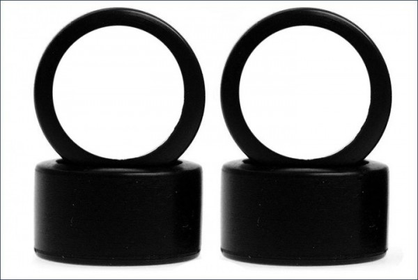 Mini-Z Reifen Slick 11mm 30 Shore 4-Stück