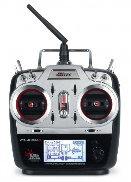 Hitec FLASH 8 2,4GHz mit Optima 9