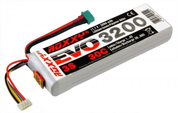 Roxxy Evo Lipo 3S 3200mAh 30C mit BID-Chip