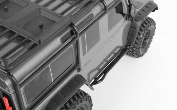 Einstiegsleisten aus Stahl für TRX4 Defender