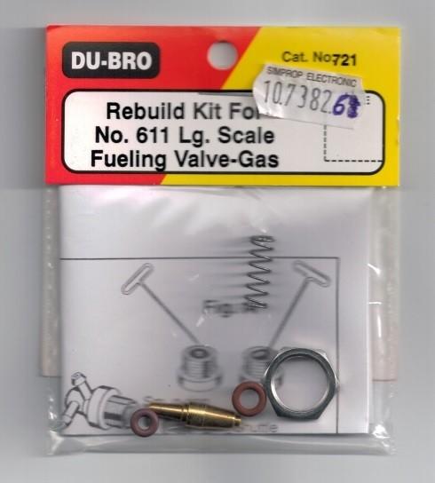 Ersatzteil Set für Benzin - groß
