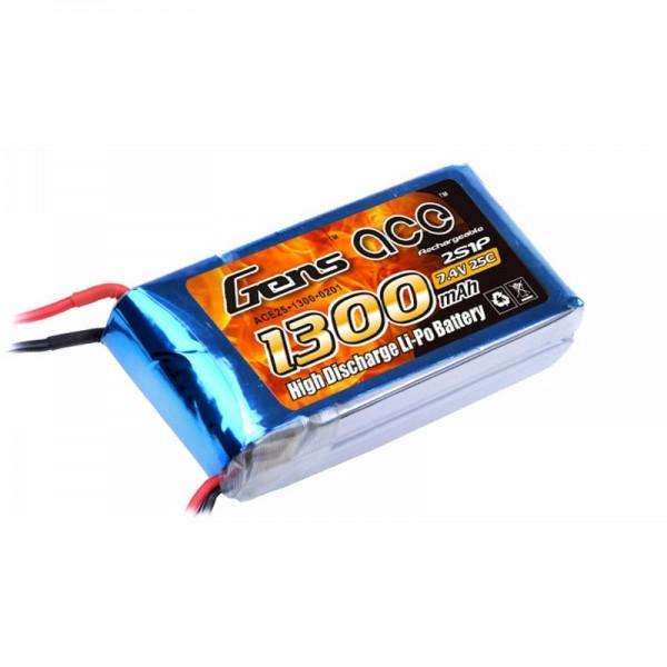 Gens ace 2S 1300mAh (XT60) 25C