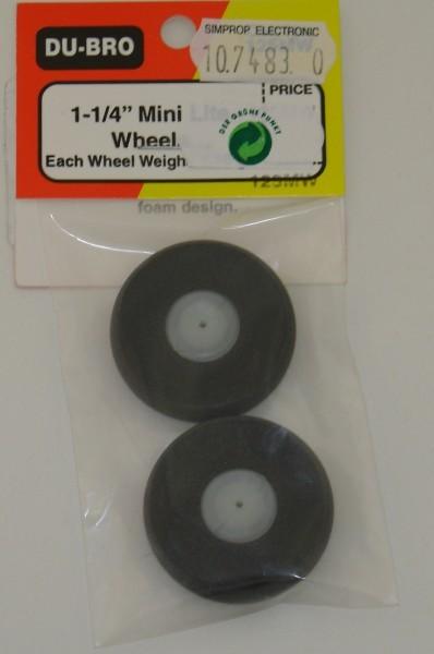 Mini Leicht Räder 2 Stück 32mm