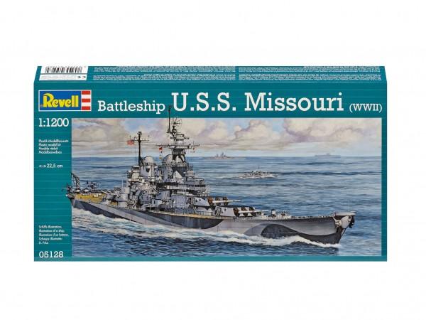 Battleship U.S.S. Missouri(WW