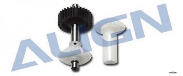 Vorderes Heckrotorgetriebe für Heckrotor T-REX 500