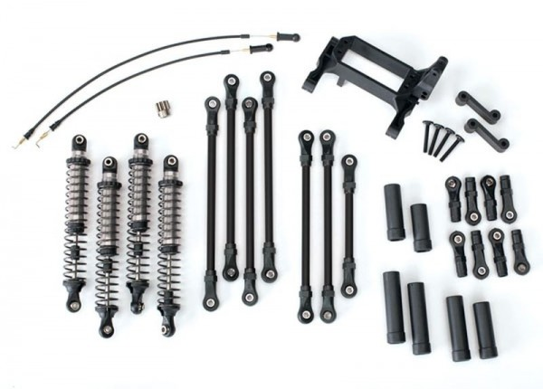 TRX4 Long Arm Lift Kit komplett silber/grau