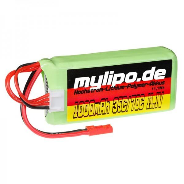 mylipo 3S 1000mAh (JST) 35/70C