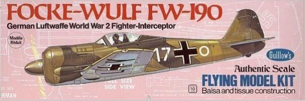Focke-Wulf Balsabausatz