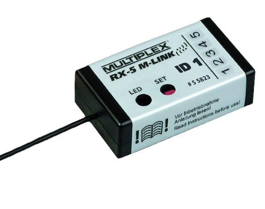 Empfänger RX-5 SMART ID 1