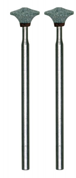 Silizium-Carbid-Schleifstifte, Linse, 2 Stück