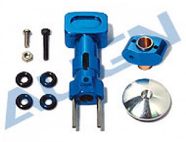 Hauptrotornabe-Set Metall blau