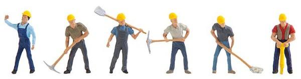 Steinbruchmitarbeiter
