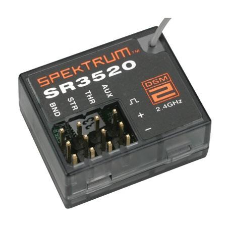 Spektrum SR3520 DSM2 3 Kanal Micro Empfänger