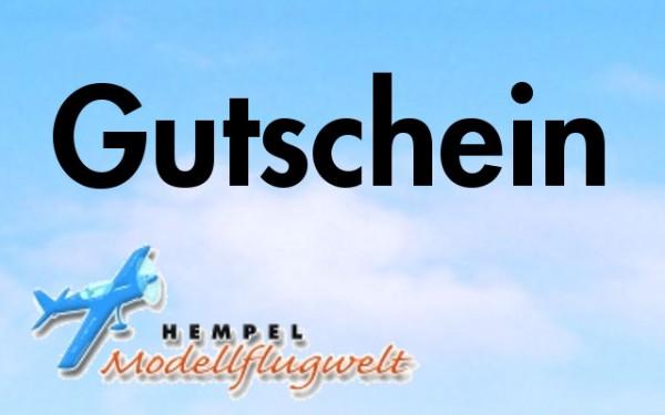 Gutschein 25,- Euro (Modellflugwelt)