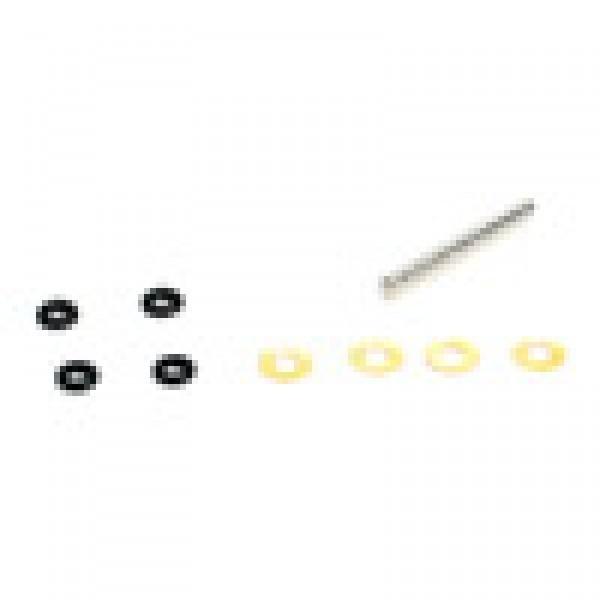 Blade Spindel mit Lagern und O-Ringen : 120 SR /S