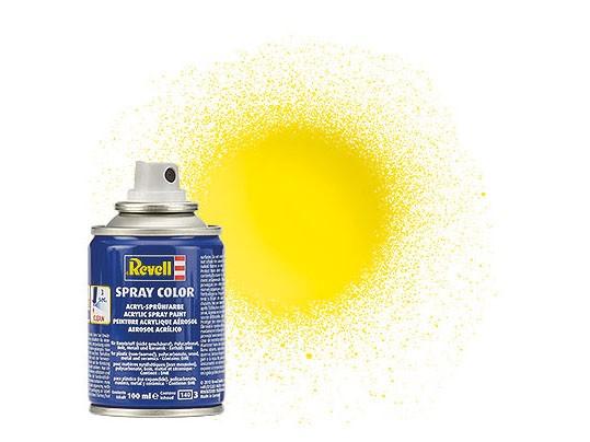 Spray gelb, glänzend