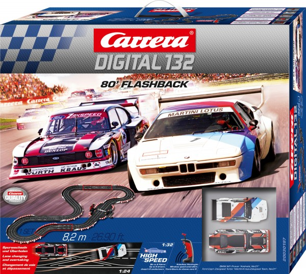 Carrera Digital 132 / 80er Flashback