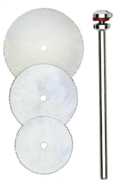 Korundgebundene Trennscheiben, 38 mm, 25 Stück