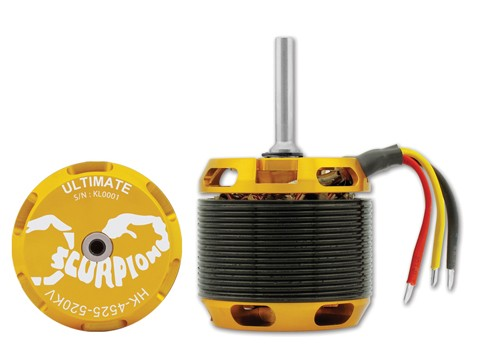 Scorpion HK-4525-520KV Ultimate Edition 6mm