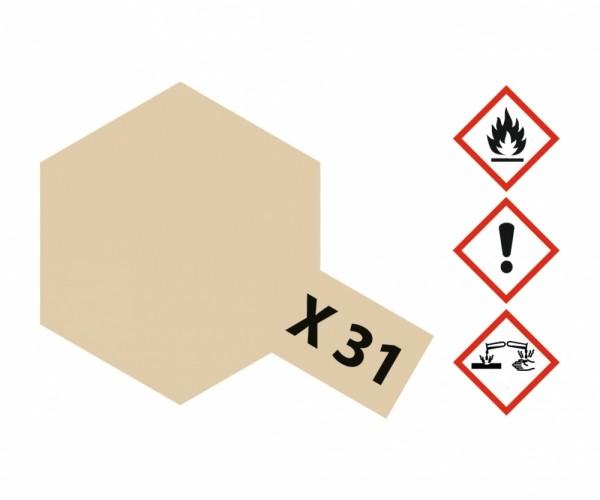 X-31 Titanium Gold glänzend 23 ml