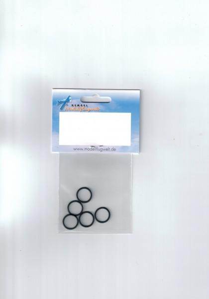 O-Ringe 5 St. 15,6x1,78mm, Luftschraubenbefestigun