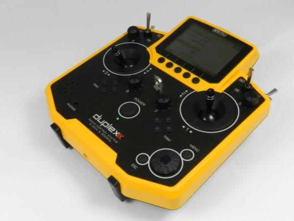 Jeti Hand-Sender DS-12 yellow edition