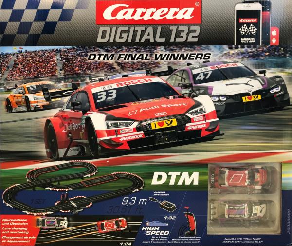 Carrera Digital 132 DTM Final Winners