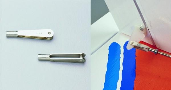 Gabelköpfe Metall M2,5 10 Stück
