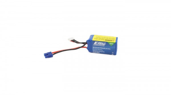 E-flite 6S 910mAh (EC3)30C