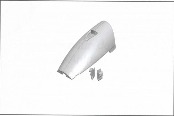 Kabinenhaube zur Nutzung des Antriebssatzes, Xeno
