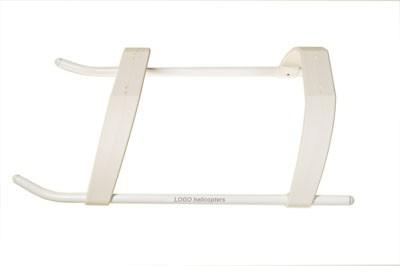 Landegestell LOW PROFILE, weiß, LOGO 600
