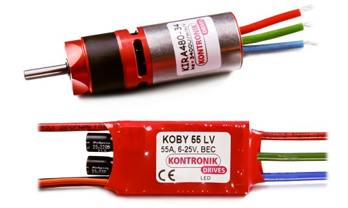DRIVE 510 KIRA 480-34 5,2:1+KOBY 55 LV