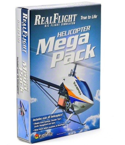 Real Flight G6 Heli Mega Pack