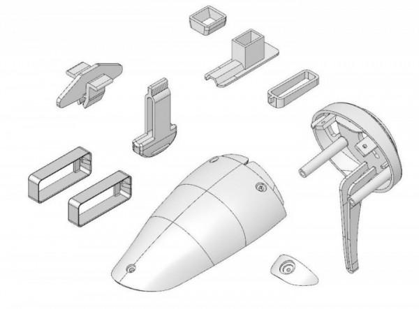 Kunststoffteilesatz EasyStar II