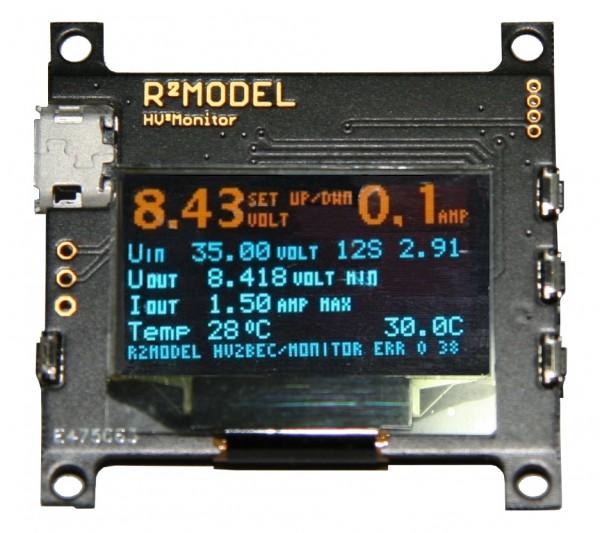 R² MonitorTelemetrie für HV² BEC