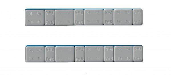 Trimmgewichte 5/10g selbstklebend, 2 Riegel a 60g