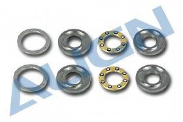 Axiallager, D5/12x4 + Dist.Ring 2Stck.,T-REX 500,