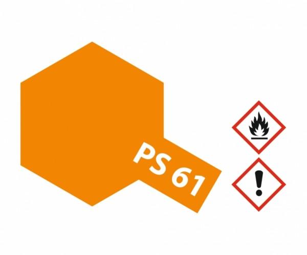 PS-61 Metallic Orange Poycarbonat 100ml