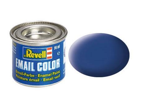 blau, matt