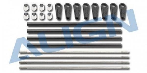 Rollgestängeset CFK T-REX700E