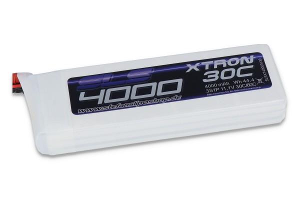 SLS XTRON 4000MAH 3S1P 11,1V 30C/60C