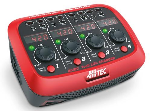 HITEC Multicharger Ladegerät X4 Micro AC/DC