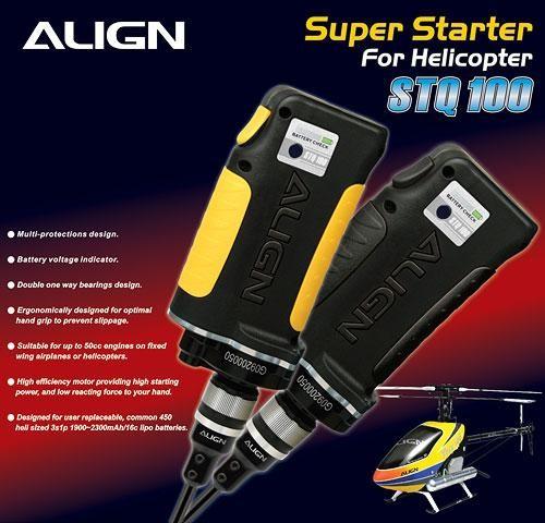 ALIGN Super Starter (für Helikopter) schwarz