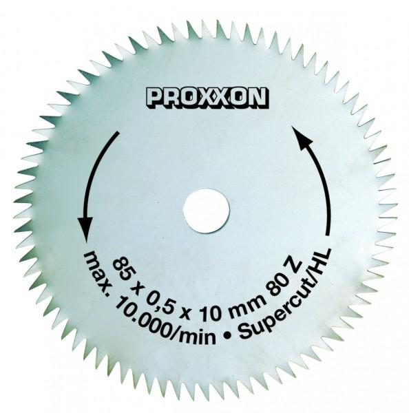 Kreissägeblatt Super-Cut, 85 mm, 80 Zähne