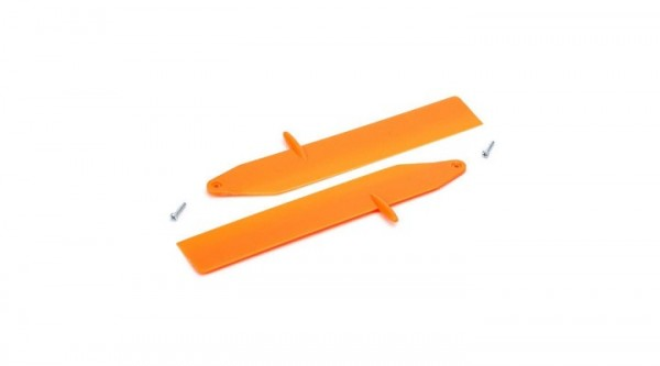 Hauptrotorblätter Fast orange mit Zub. Nano CP x