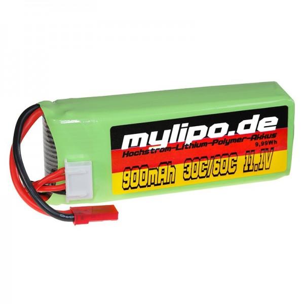 mylipo 3S 900mAh (JST) 30C/60C 230 S