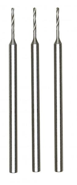 Mikro,Spiralbohrer (HSS-Stahl), 0,8 mm, 3 Stück