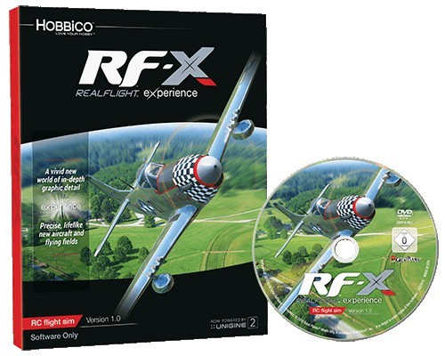RealFlight RF-X RC-Simulator nur Software