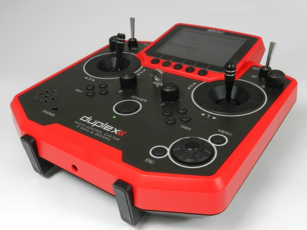 Jeti Hand-Sender DS-12 red edition